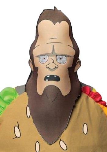 Mens Bob's Burgers Gene Beefsquatch Mask
