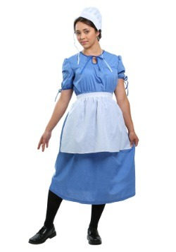 Amish Prairie Woman Costume For Adults