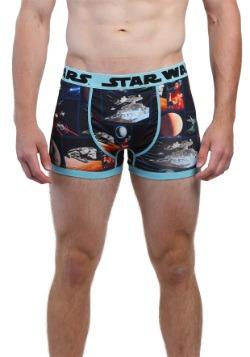 Star Wars Space Scene Mens Boxer Briefs