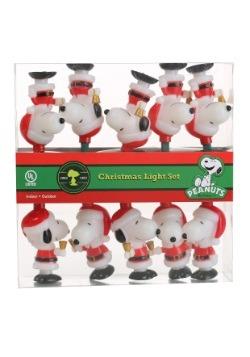 Santa Snoopy Lights