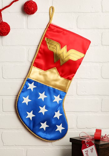 Wonder Woman Stocking Update