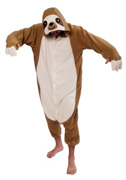 Adult Sloth Kigurumi Pajama Costume