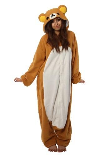 Adult's Rilakkuma Kigurumi Pajama Costume