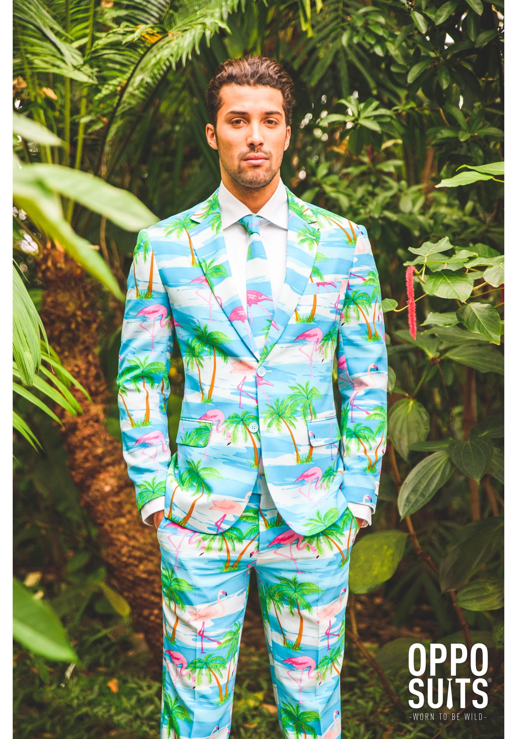 c49f95dadc99e4 Men's OppoSuits Flamingo Suit