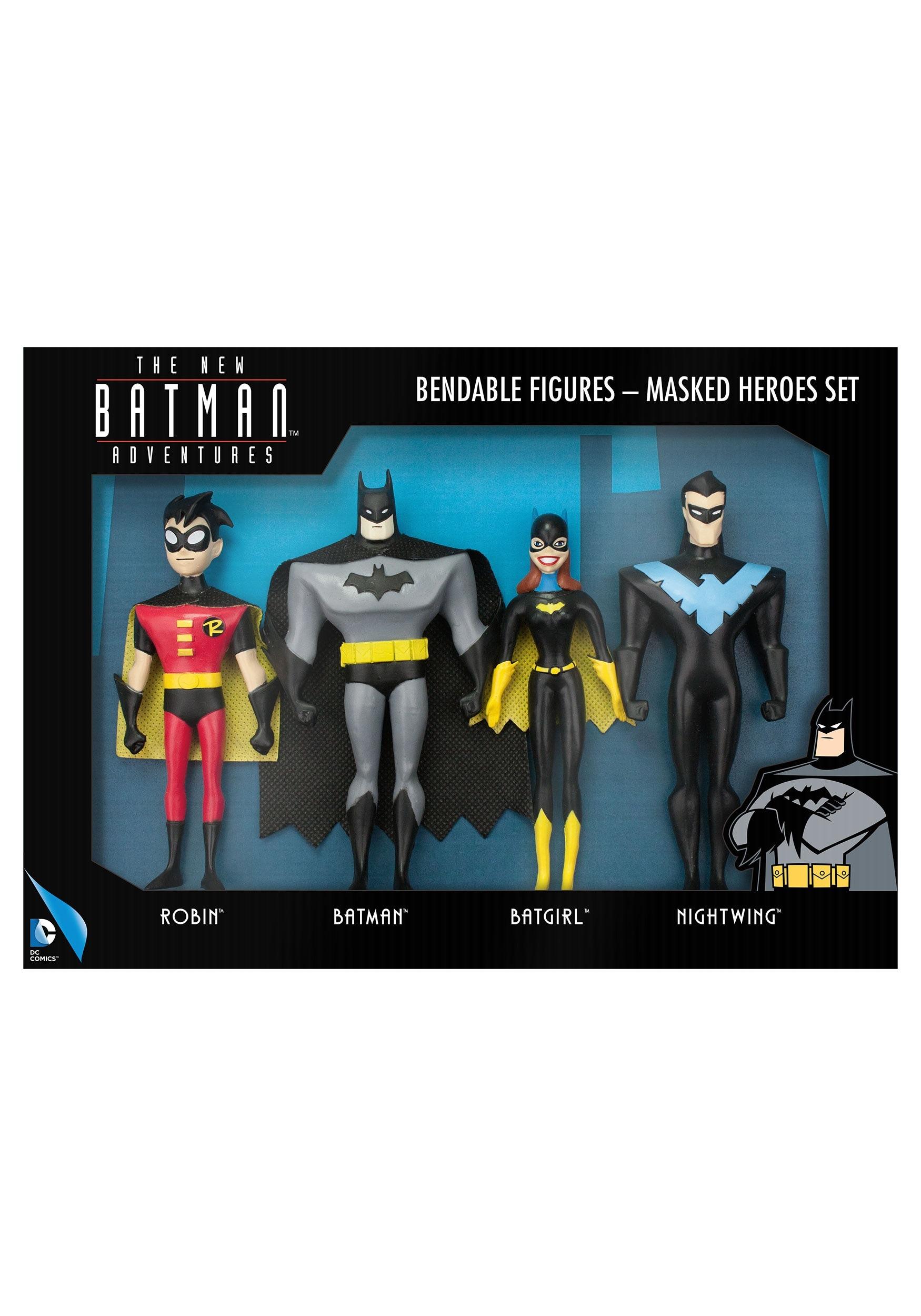 The New Batman Adventures Masked Heroes Set NJCDC3956-1600