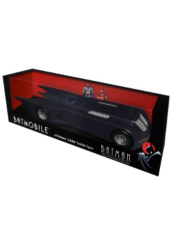 "Batman the Animated Series Batmobile w/ 3"" Bendable Figures"