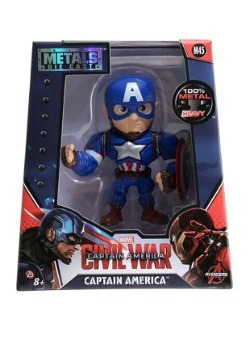 """Captain America 4"""" Figure"""
