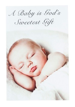 Baby Shower Card w/ Crying Baby Sound