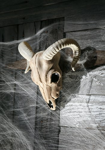 Ram Skull Halloween Decoration Update