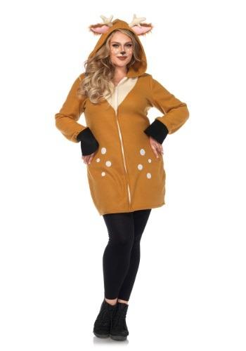 Cozy Fawn Plus Size Women's Costume