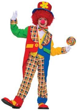 Colorful Clown Kid's Classic Costume
