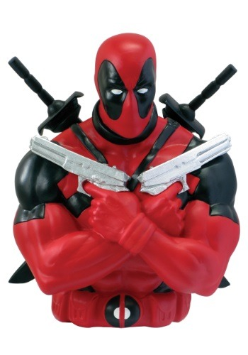 Marvel Deadpool Coin Bank