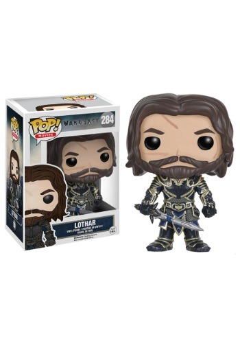 POP Warcraft Lothar Vinyl Figure FN7471-ST