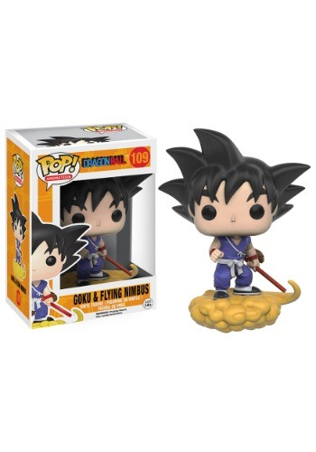 POP Dragonball Z Goku & Nimbus Vinyl Figure