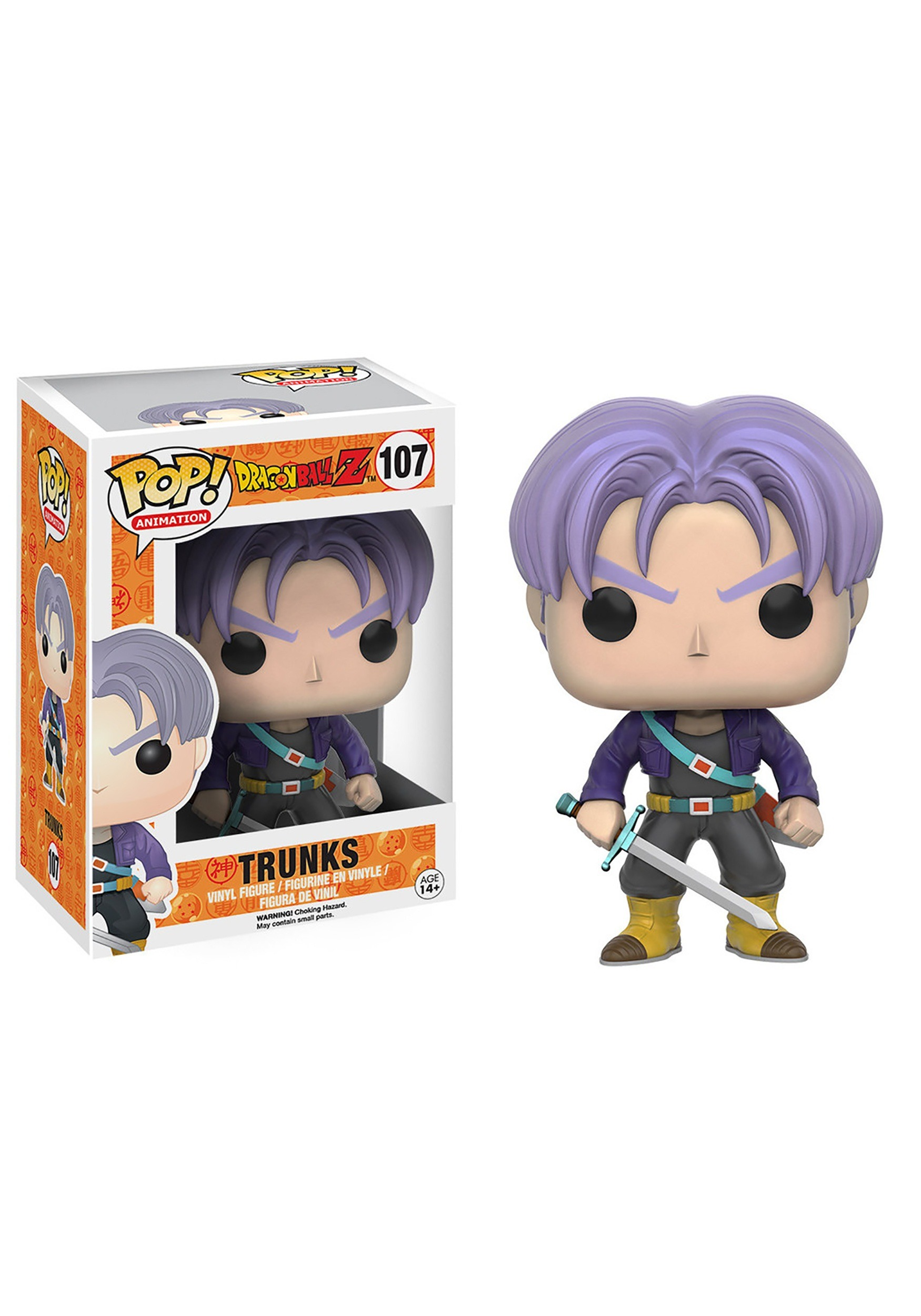 POP Dragonball Z Trunks Vinyl Figure FN7425