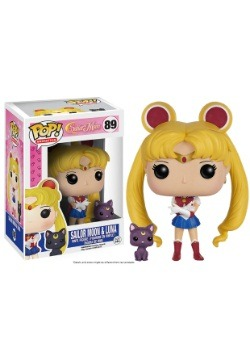 POP Sailor Moon With Luna Vinyl Figure