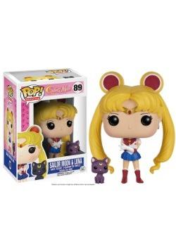 POP Sailor Moon With Luna Vinyl Figure