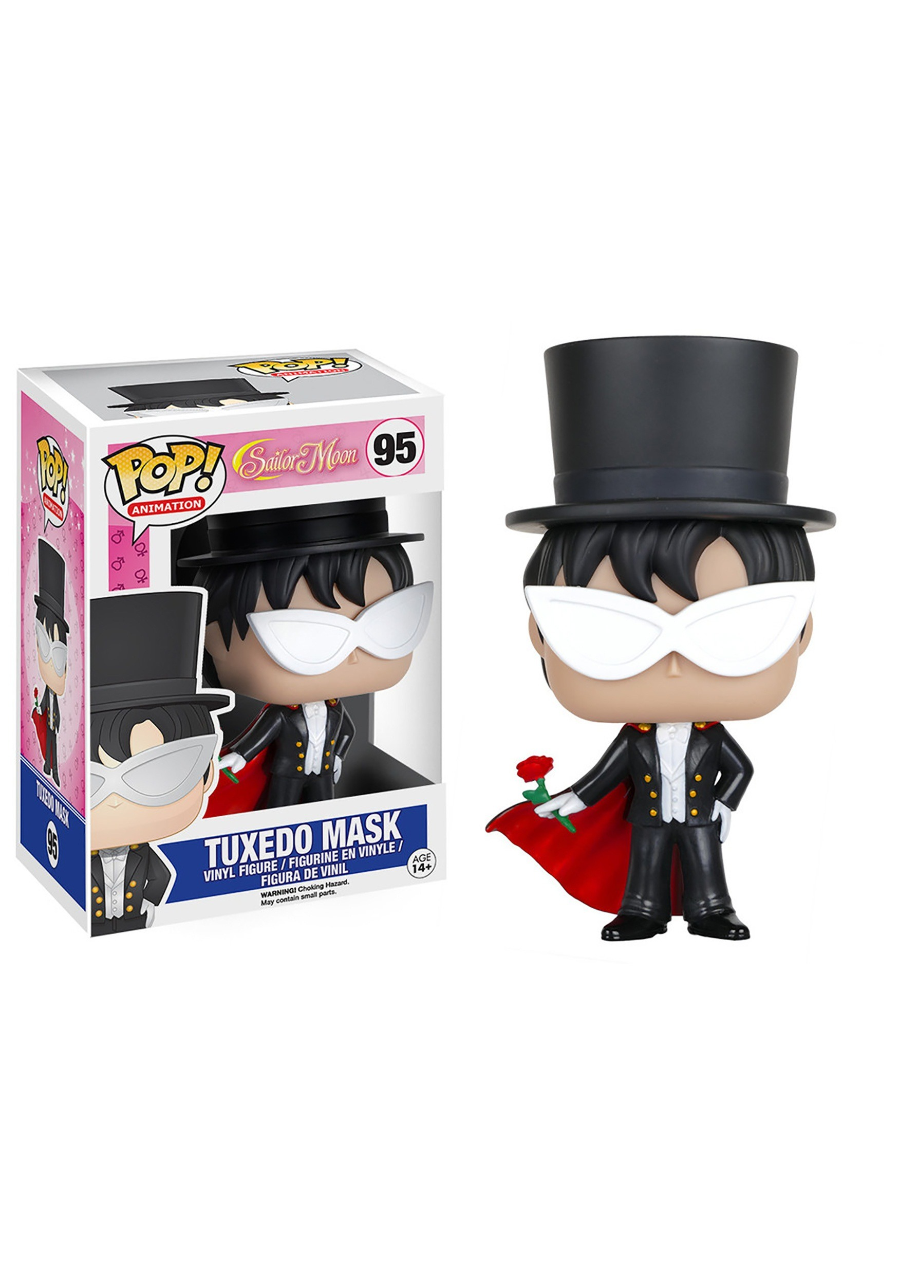 POP Sailor Moon Tuxedo Mask Vinyl Figure FN6351