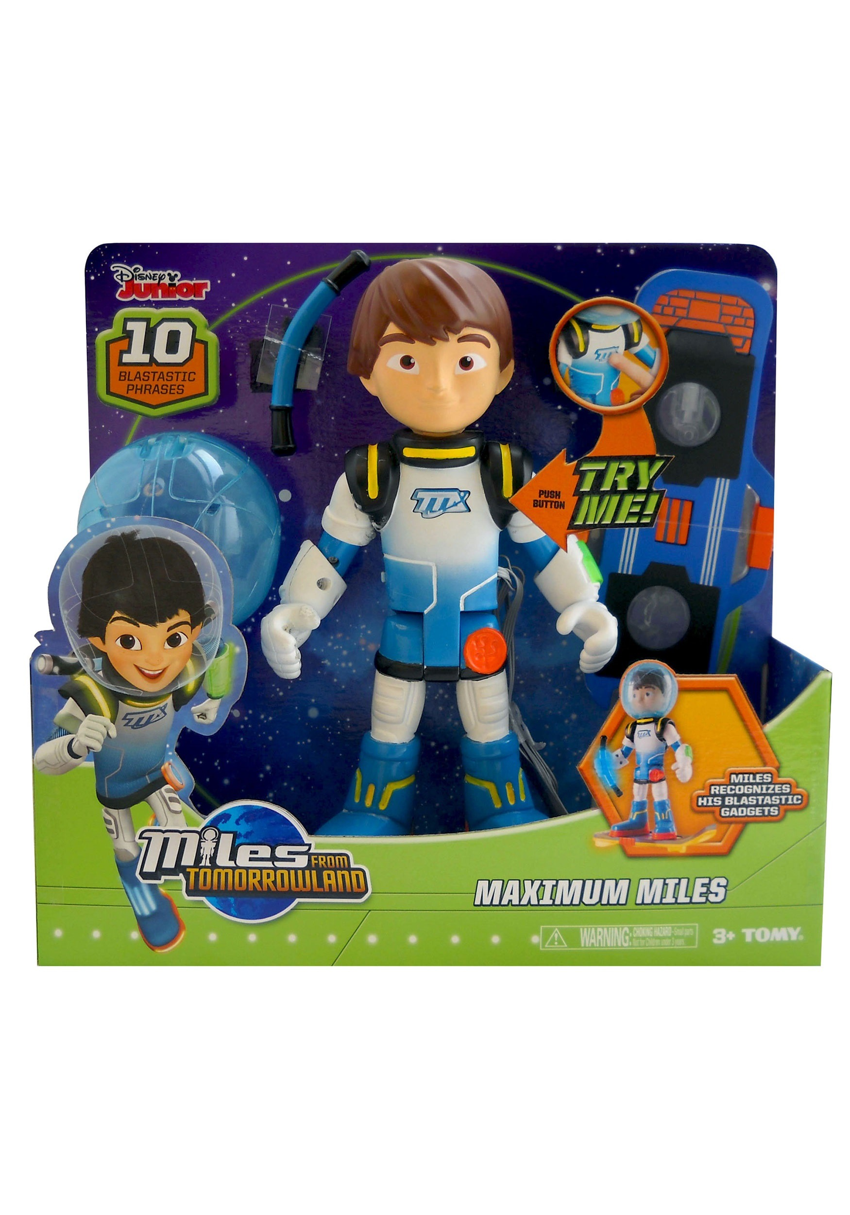 Miles from Tomorrowland Galatech Maximum Miles Figure TOML86150