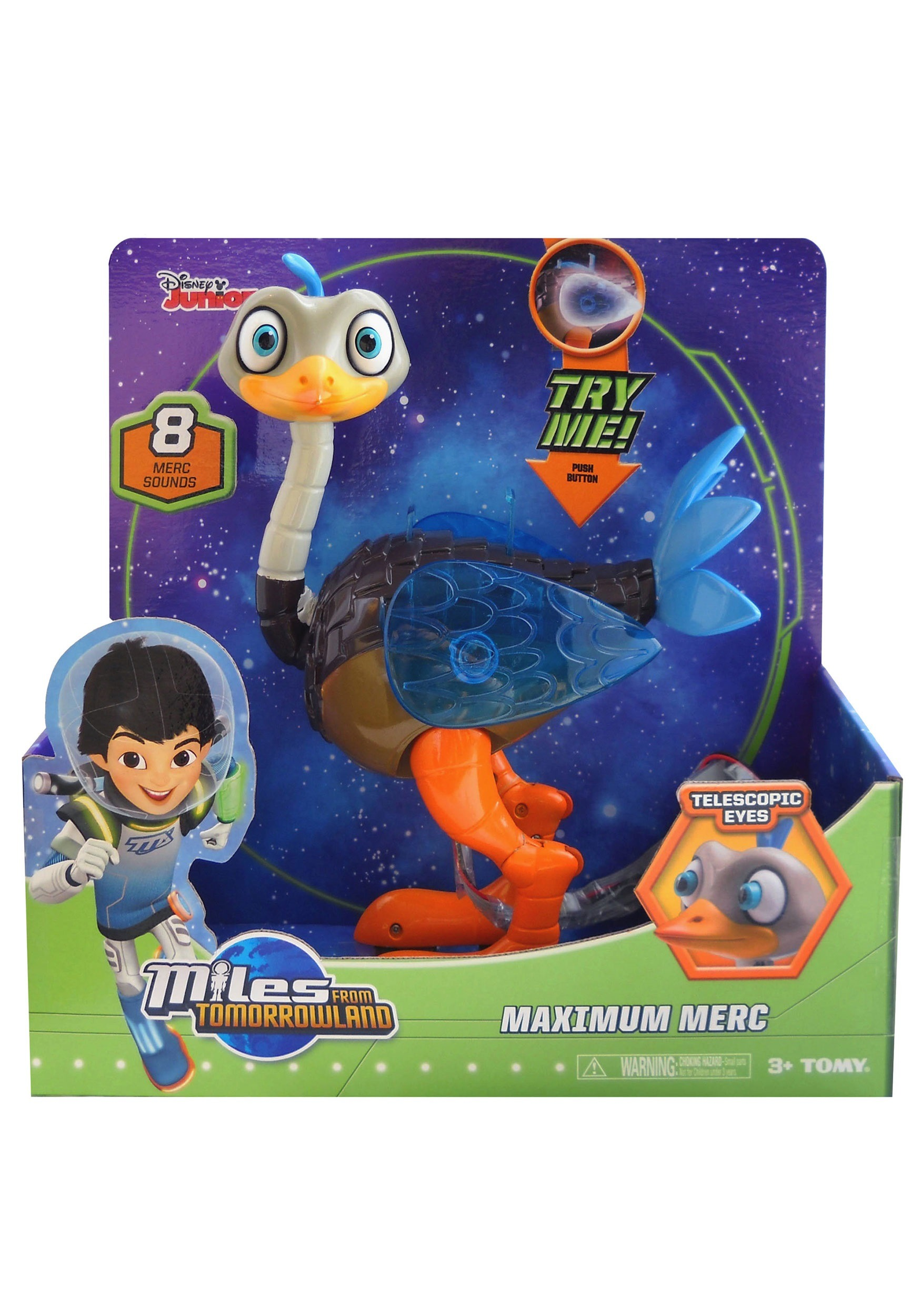 Miles from Tomorrowland Maximum Merc Figure TOML86151