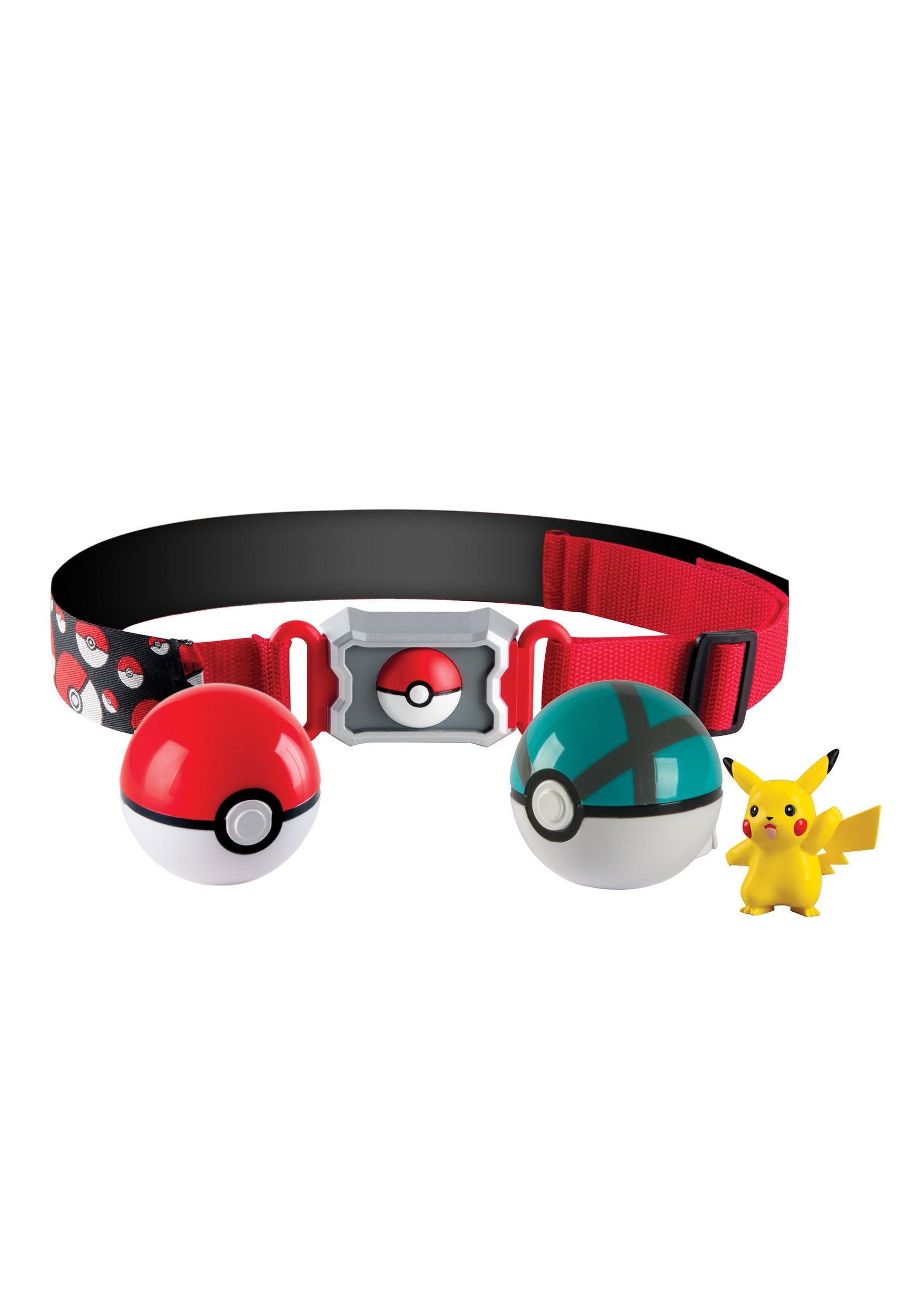 Pokemon Clip n' Carry Poke Ball Belt  TOMT18889D