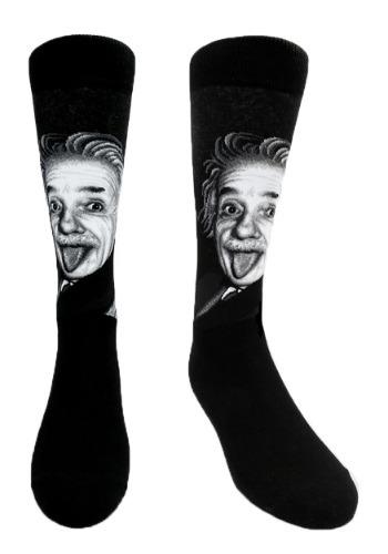 Albert Einstein Men's Crew Socks