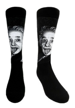 Albert Einstein Men's Crew Socks