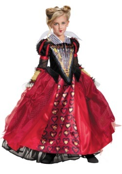 Child Deluxe Red Queen Costume