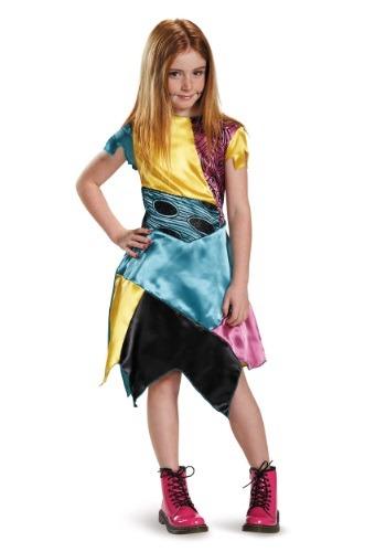 Nightmare Before Christmas Girls Sally Costume