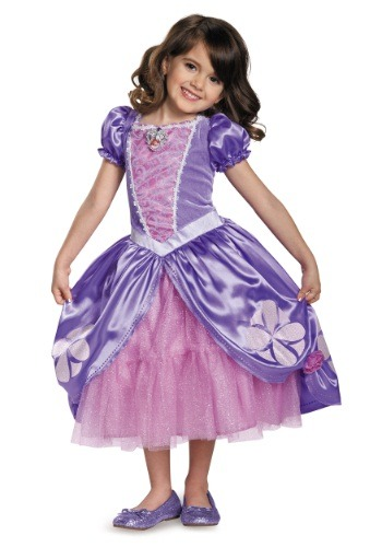 Girls Deluxe Sofia The First Next Chapter Costume Dress