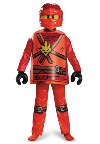 Ninjago Kai Deluxe Boys Costume