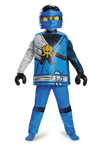Ninjago Jay Deluxe Boys Costume