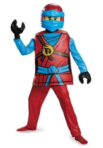 Ninjago Nya Deluxe Girls Costume