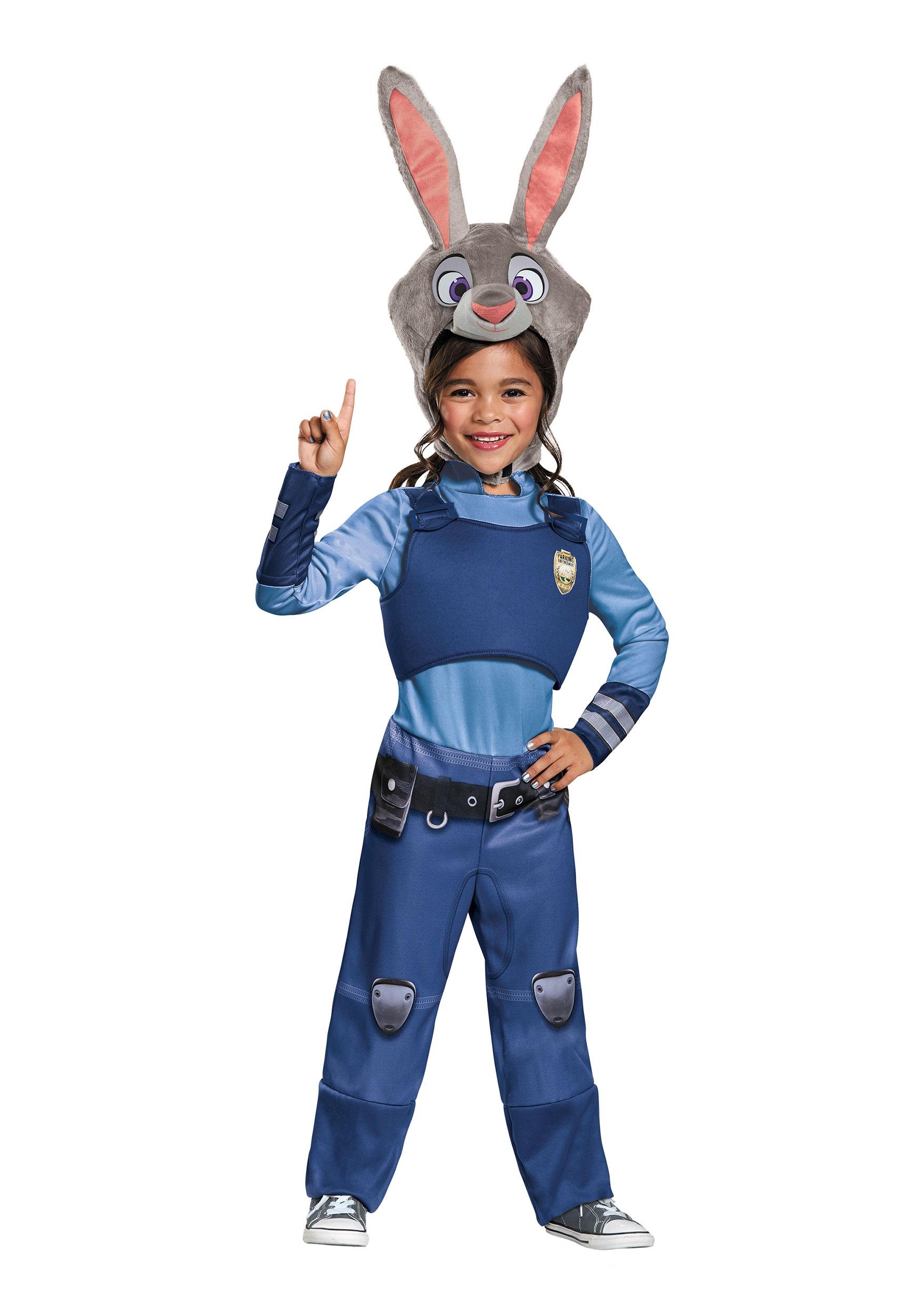 zootopia judy hopps costume for girls