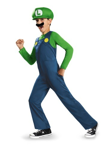 Child Luigi Classic Costume