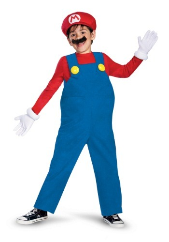Deluxe Mario Costume for Boys