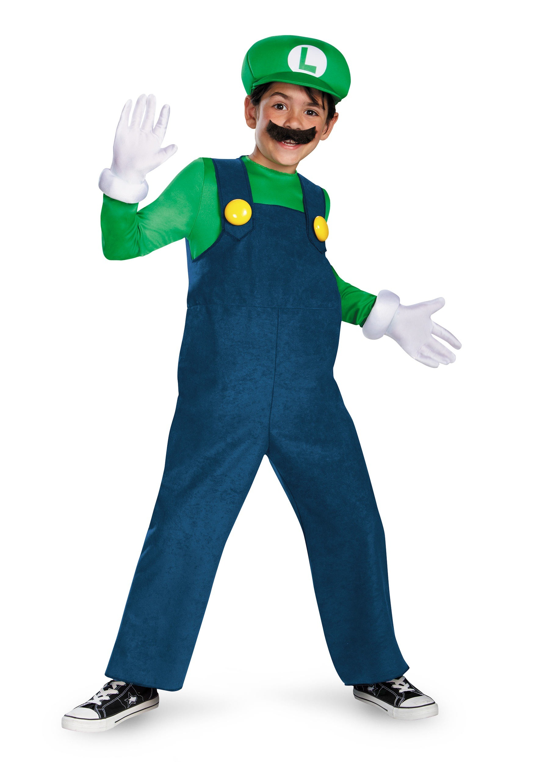 Deluxe Luigi Boys Costume  sc 1 st  Fun.com & Deluxe Luigi Costume for Boys
