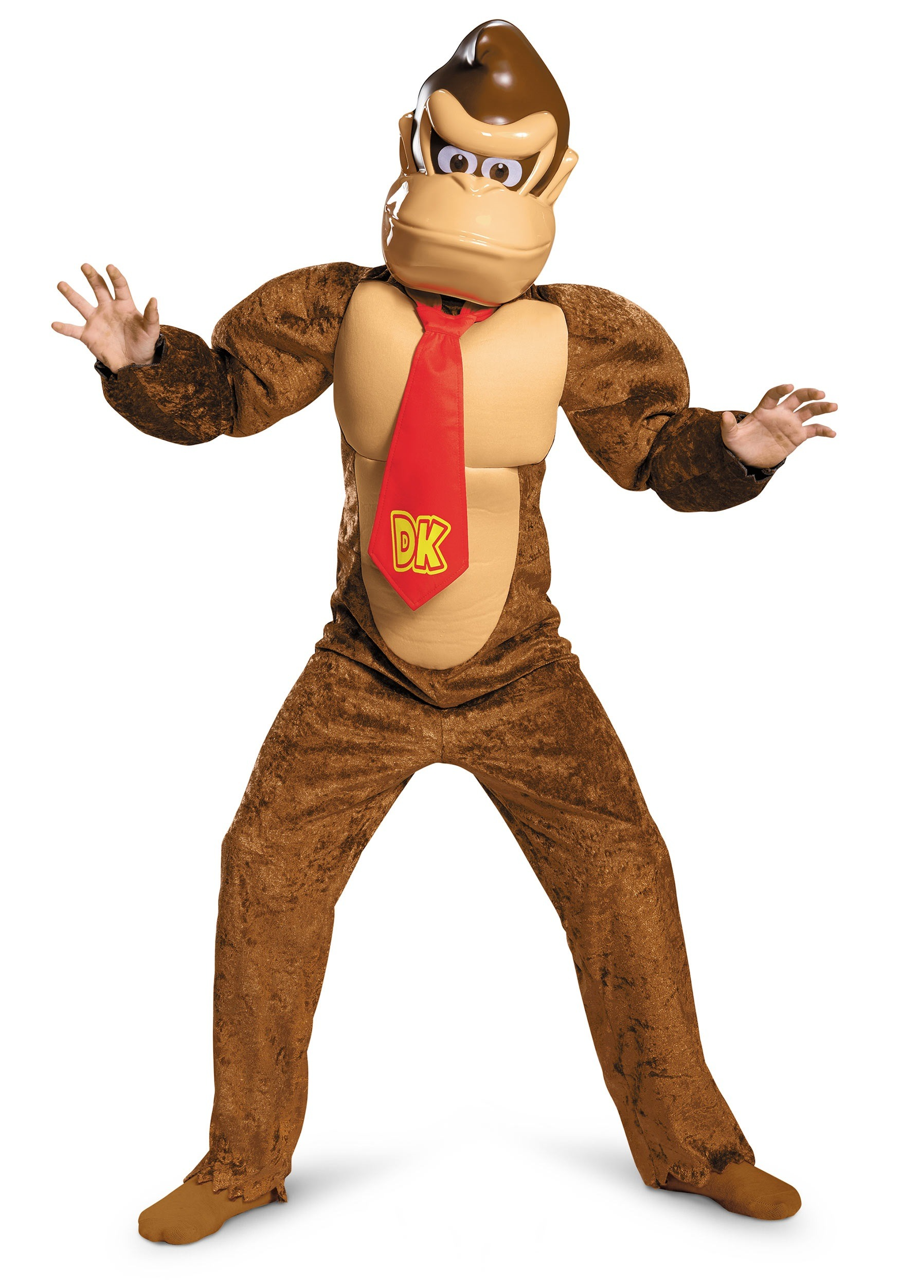 Deluxe Donkey Kong Costume For Kids