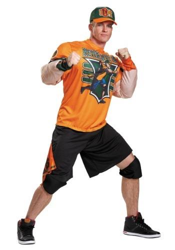 John Cena Adult Plus Size Muscle Costume
