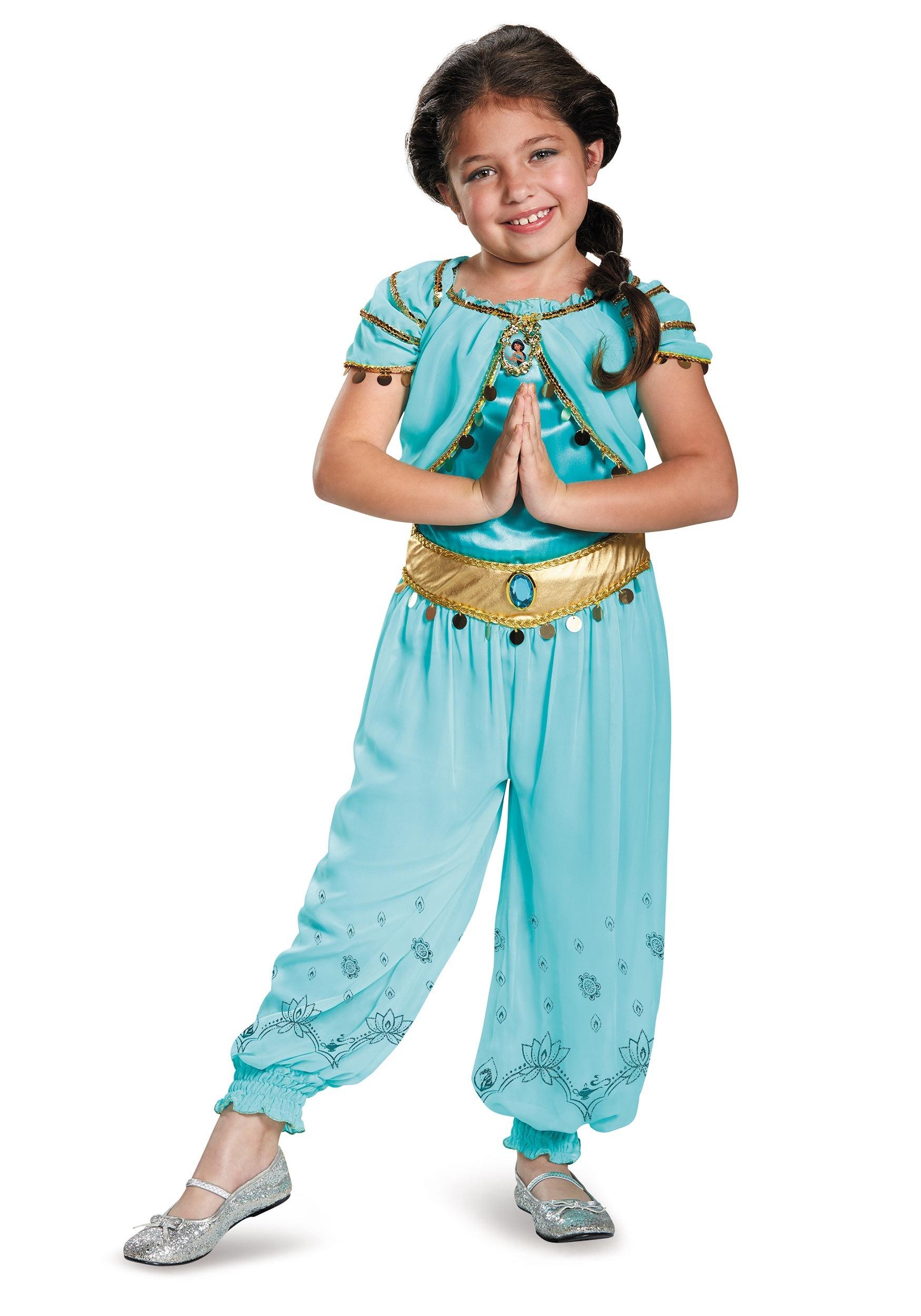Child Jasmine Prestige Costume  sc 1 st  Fun.com & Jasmine Prestige Child Costume