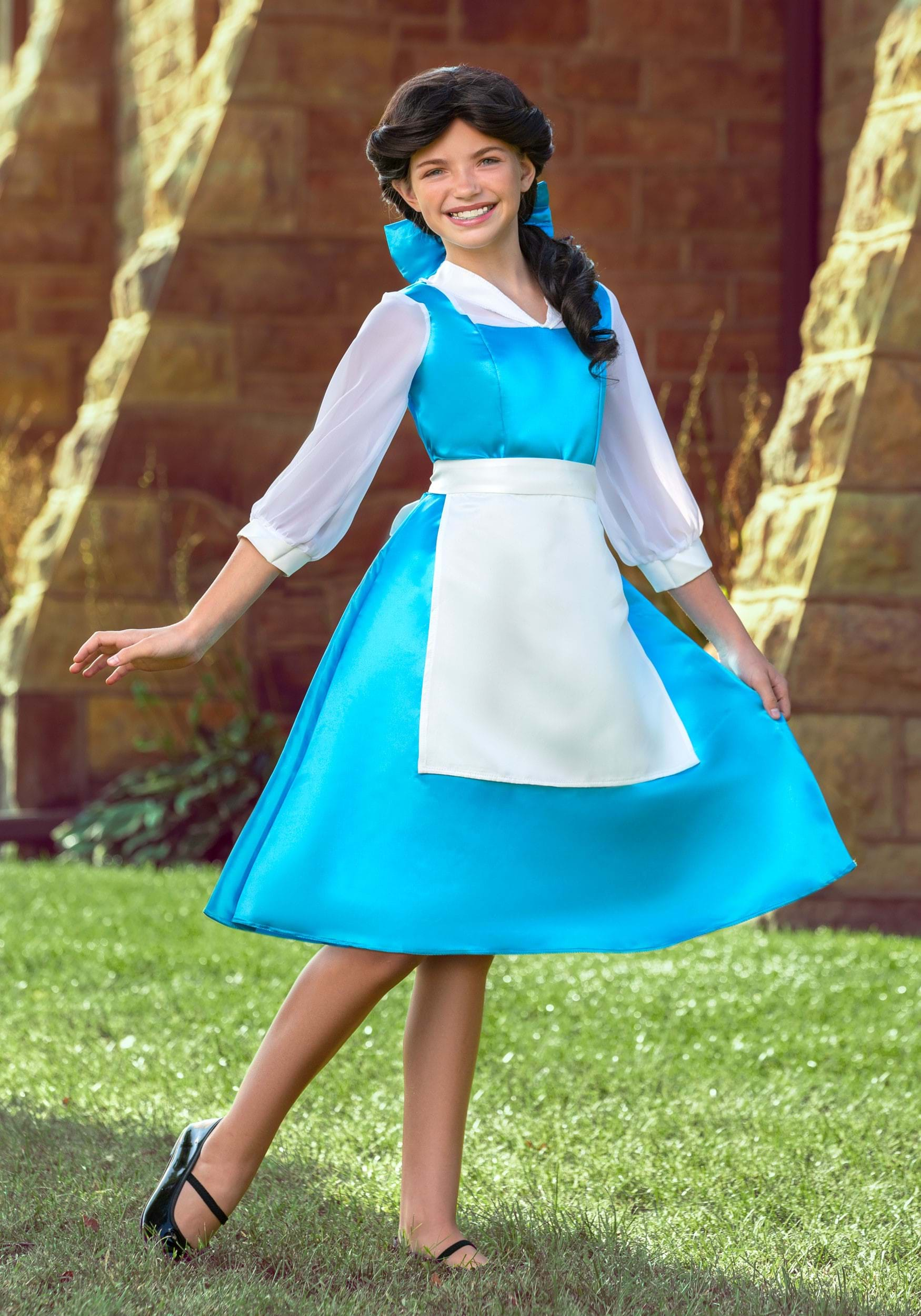 Belle Blue Dress for Tween Girls