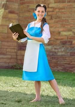 Adult Belle Blue Dress-2