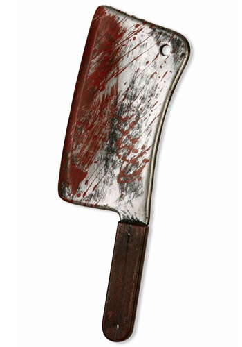 Blood Covered Cleaver