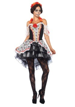 Sugar Skull Senorita Women's Costume