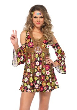 Starflower Hippie Costume for Women