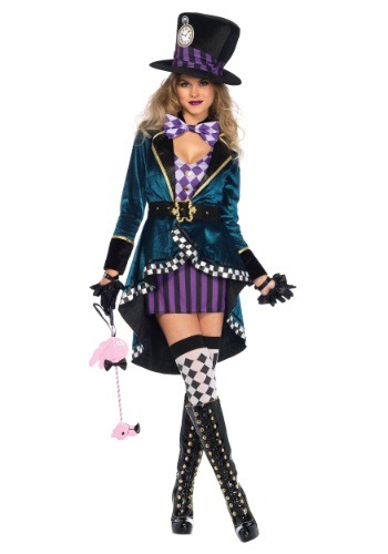 Delightful Hatter Women's Costume