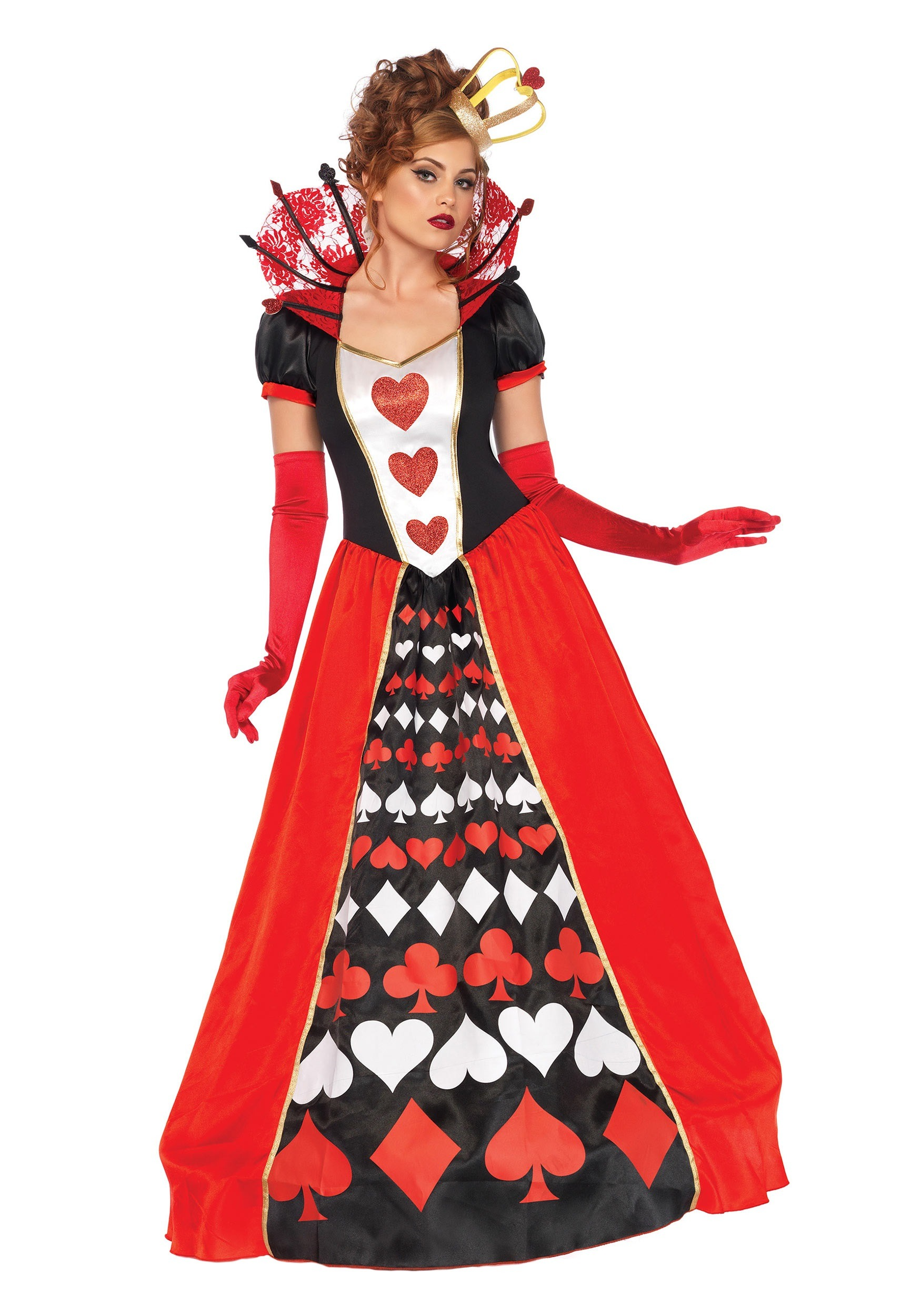 Royal Red Queen Plus Size Adult Halloween Costume
