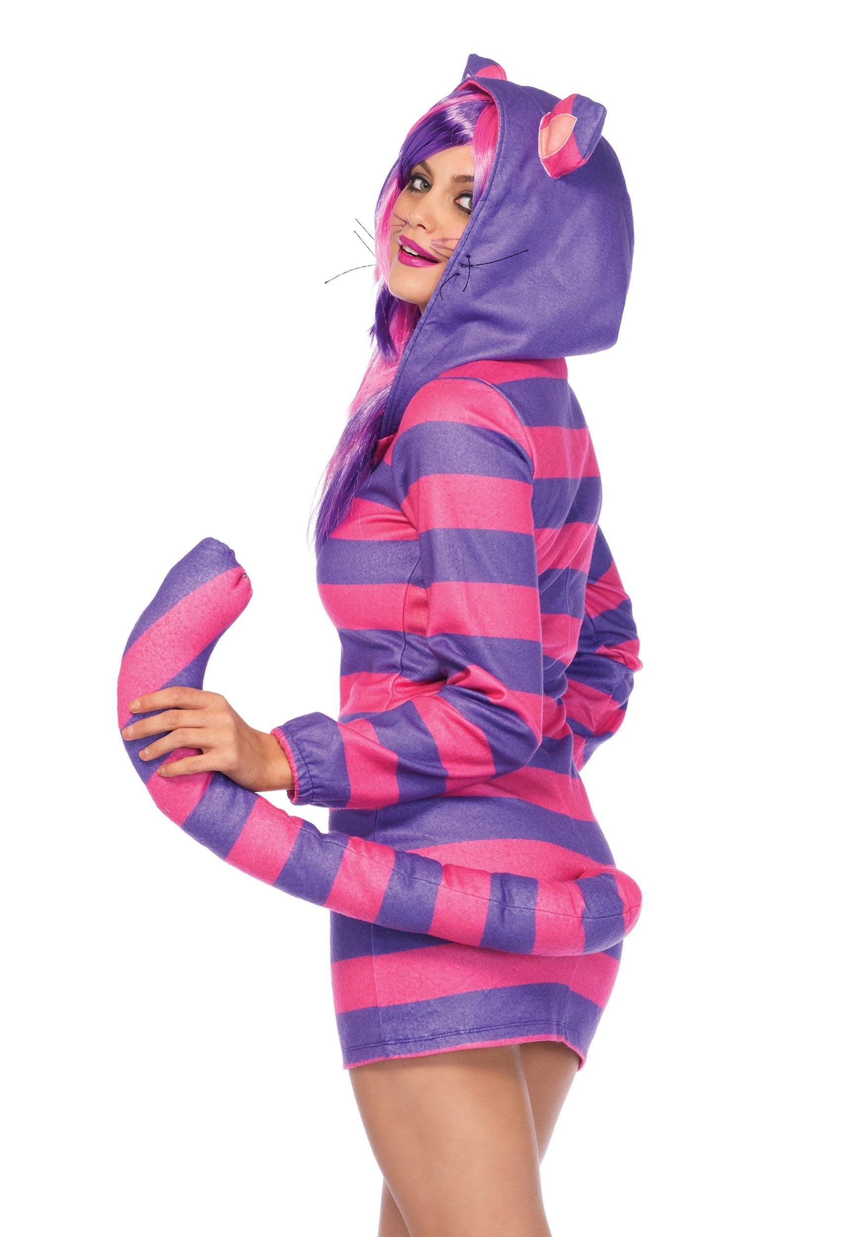 Womenu0027 Cozy Cheshire Cat Costume Womenu0027 Cozy Cheshire Cat Costume  sc 1 st  Fun.com & Cozy Cheshire Cat Womens Costume