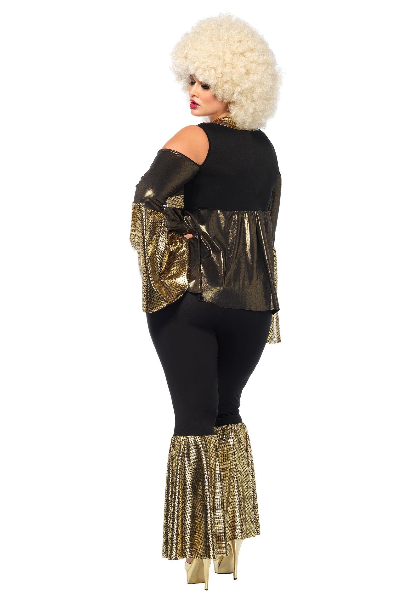 Plus Size Disco Diva Costume  sc 1 st  Fun.com & Disco Diva Plus Size Costume