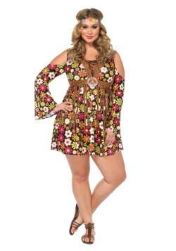 Starflower Hippie Plus Size Costume